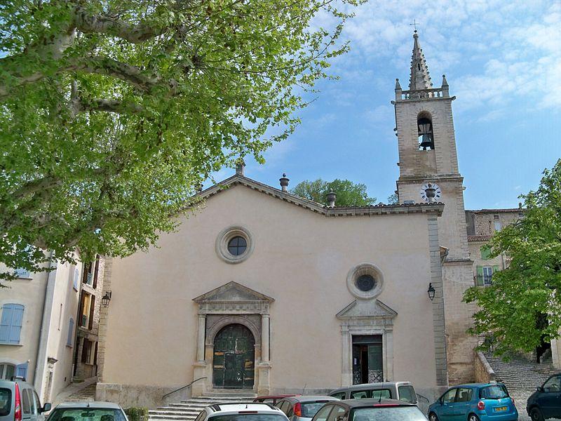 Photo du Monument Historique Eglise paroissiale Saint-André et chapelle des pénitents blancs ou Notre-Dame de Pitié situé à Mane