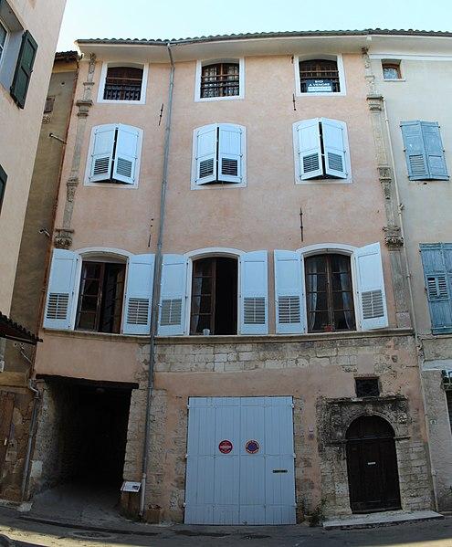 Photo du Monument Historique Hôtel situé à Riez