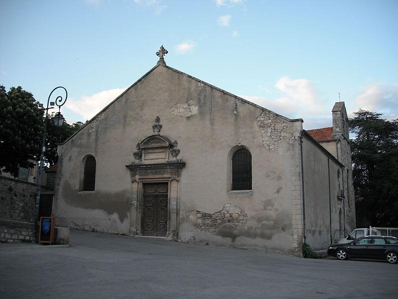 Photo du Monument Historique Eglise paroissiale Notre-Dame de l'Assomption situé à Reillanne