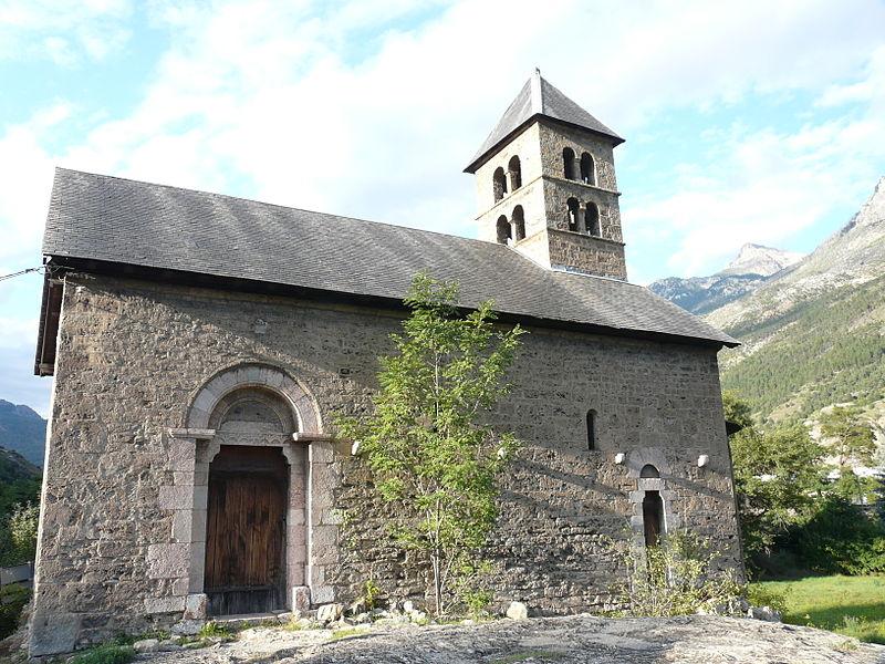 Photo du Monument Historique Chapelle Saint-Jean situé à L'Argentière-la-Bessée
