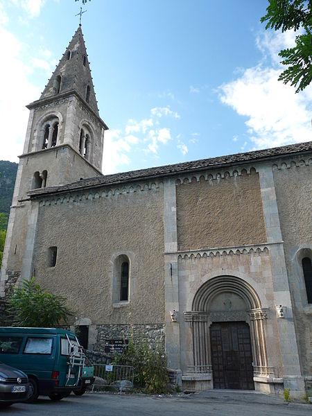 Photo du Monument Historique Eglise Saint-Apollinaire situé à Argentière-la-Bessée (L')