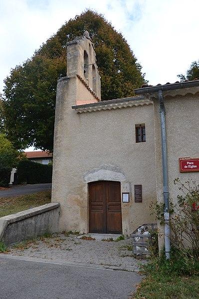 Photo du Monument Historique Eglise situé à La Bâtie-Montsaléon