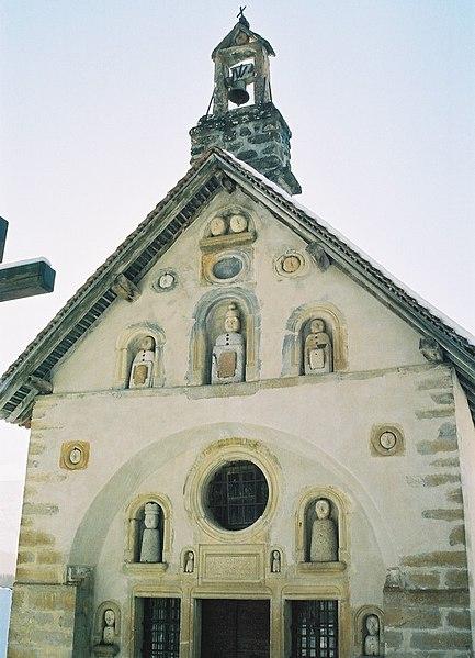 Photo du Monument Historique Chapelle Saint-Grégoire ou des Pétètes situé à Bénévent-et-Charbillac