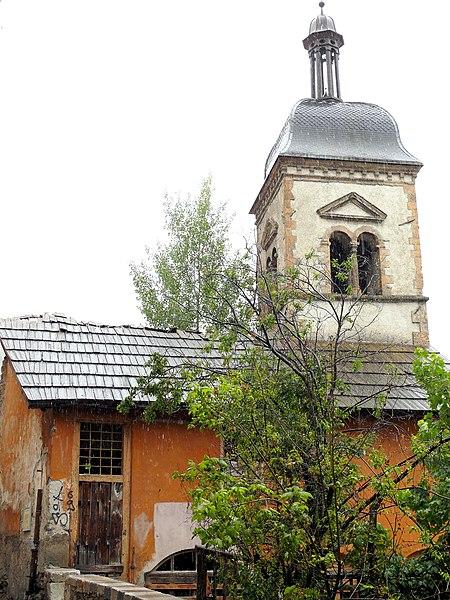 Photo du Monument Historique Chapelle des Pénitents Noirs situé à Briançon