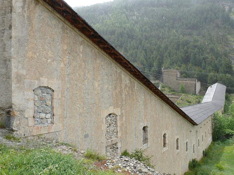 Photo du Monument Historique Communication Y situé à Briançon