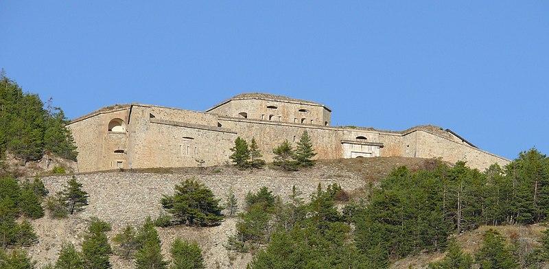 Photo du Monument Historique Fort des Salettes situé à Briançon