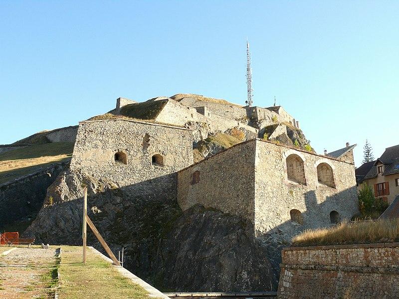 Photo du Monument Historique Fortifications situé à Briançon
