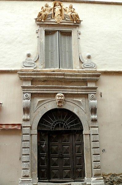 Photo du Monument Historique Maison situé à Briançon