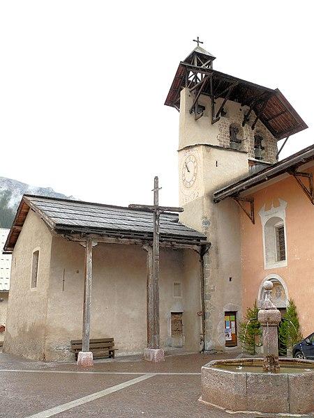 Photo du Monument Historique Eglise de la Vierge situé à Ceillac