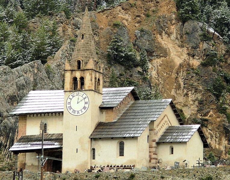 Photo du Monument Historique Eglise Saint-Michel situé à Cervières