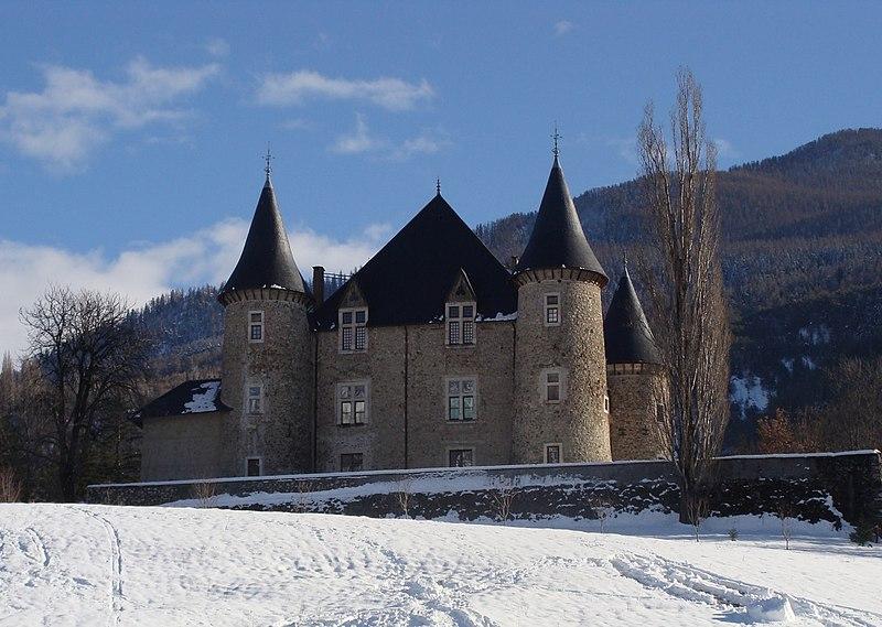Photo du Monument Historique Château de Picomtal situé à Crots