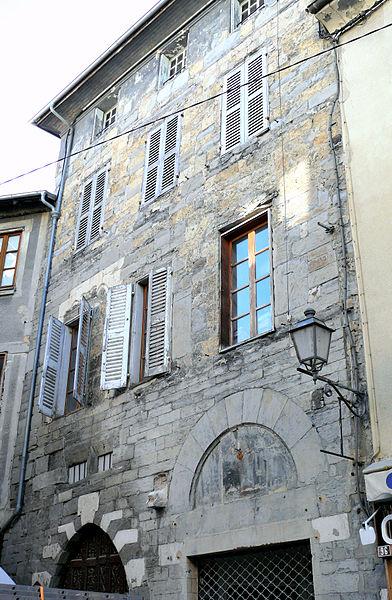 Photo du Monument Historique Hôtel des Gouverneurs situé à Embrun
