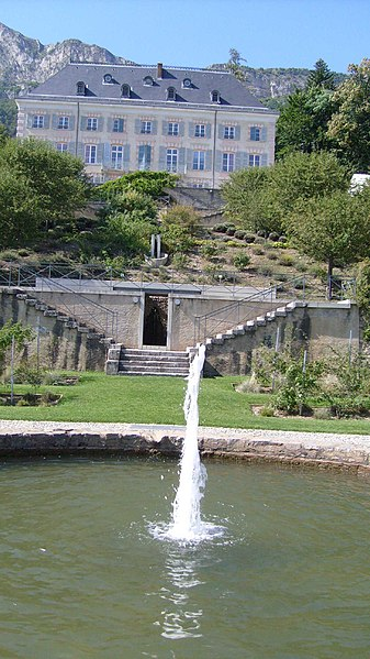 Photo du Monument Historique Domaine de Charance situé à Gap