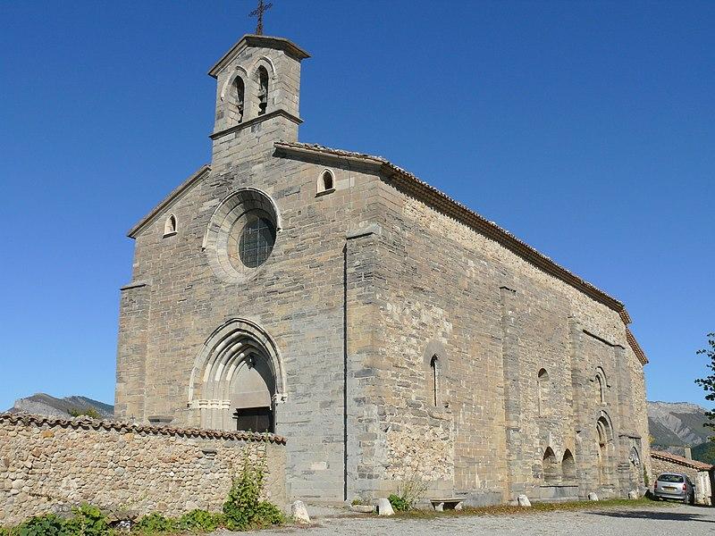Photo du Monument Historique Eglise situé à Lagrand