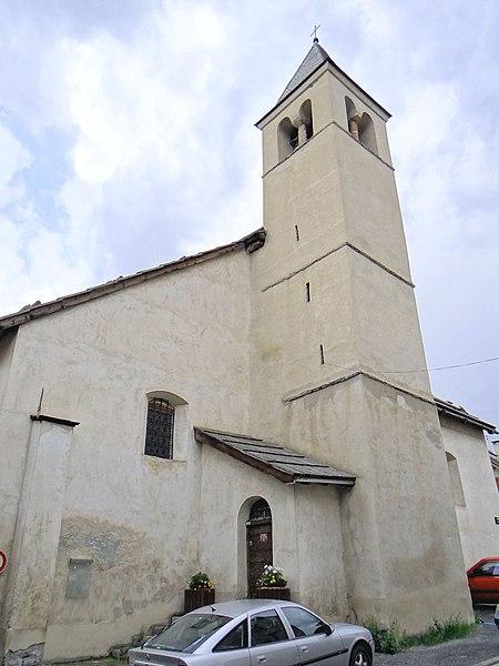 Photo du Monument Historique Chapelle Saint-Pierre situé à Le Monêtier-les-Bains