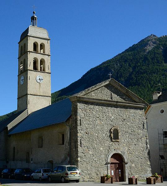 Photo du Monument Historique Eglise des Guibertes situé à Le Monêtier-les-Bains