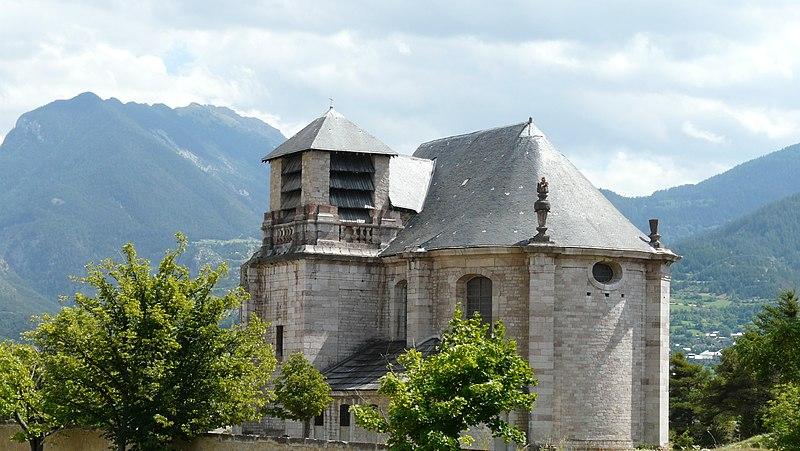 Photo du Monument Historique Eglise inachevée comprise dans l'ensemble architectural de la place-forte situé à Mont-Dauphin