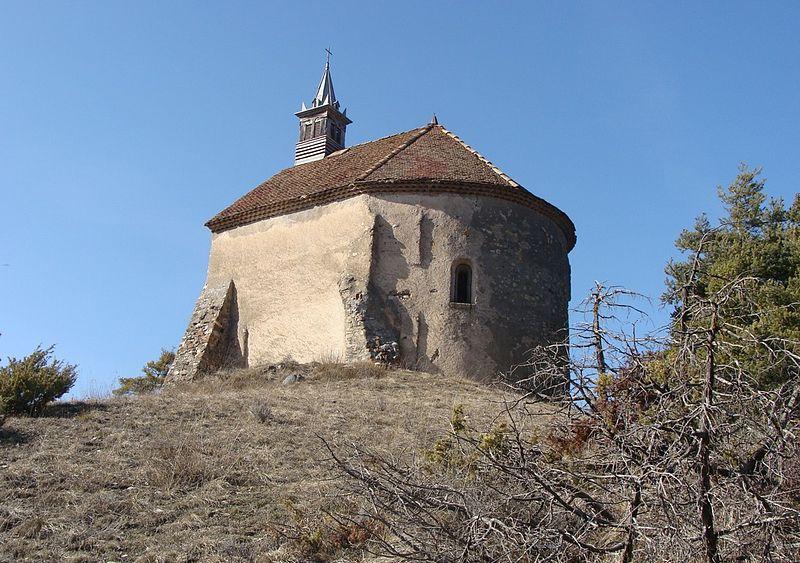 Photo du Monument Historique Chapelle Sainte-Philomène situé à Montmaur