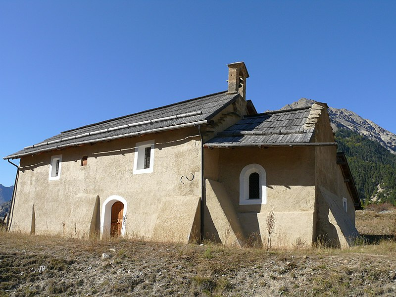 Photo du Monument Historique Chapelle Saint-Hippolyte situé à Névache