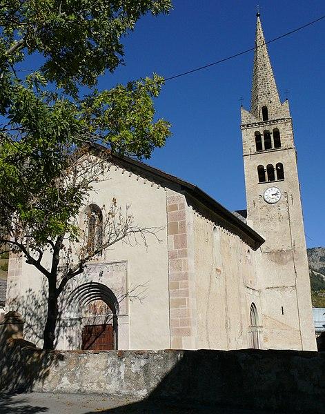 Photo du Monument Historique Eglise situé à Névache