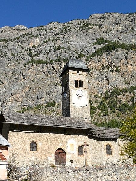 Photo du Monument Historique Eglise Saint-Sébastien de Plampinet situé à Névache