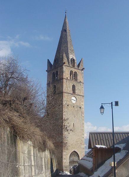 Photo du Monument Historique Eglise situé à Réallon