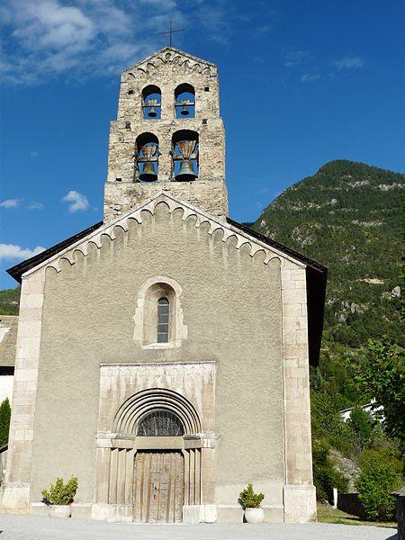 Photo du Monument Historique Eglise situé à La Roche-de-Rame