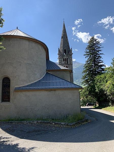 Photo du Monument Historique Eglise situé à Saint-André-d'Embrun