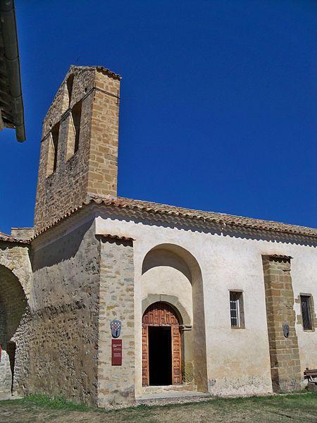 Photo du Monument Historique Prieuré situé à Saint-André-de-Rosans