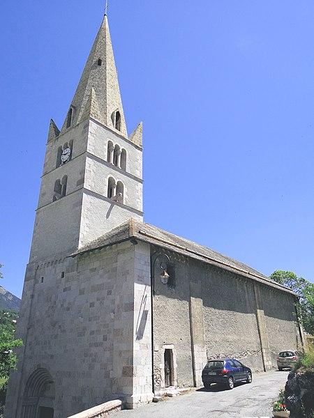 Photo du Monument Historique Eglise situé à Saint-Crépin