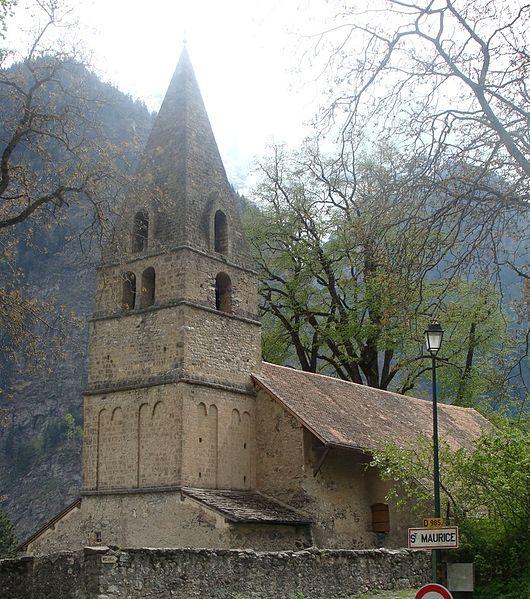 Photo du Monument Historique Eglise situé à Saint-Maurice-en-Valgodemard
