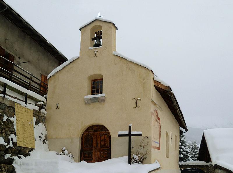 Photo du Monument Historique Chapelle Saint-Jean-Baptiste-des-Pananches situé à La Salle les Alpes