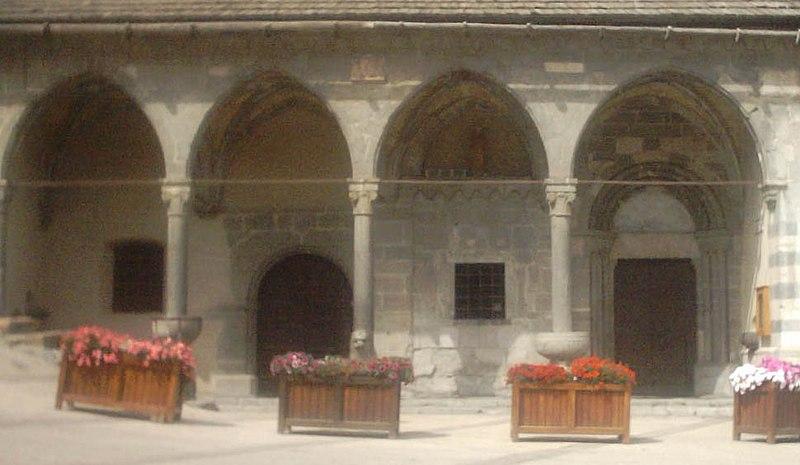 Photo du Monument Historique Eglise paroissiale Saint-Marcellin situé à La Salle les Alpes
