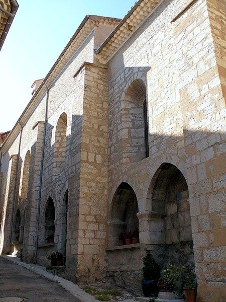 Photo du Monument Historique Eglise situé à Serres