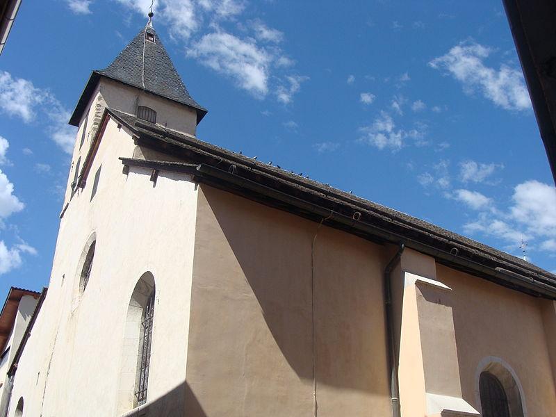 Photo du Monument Historique Eglise paroissiale Saint-Grégoire situé à Tallard