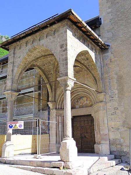 Photo du Monument Historique Eglise situé à Vallouise