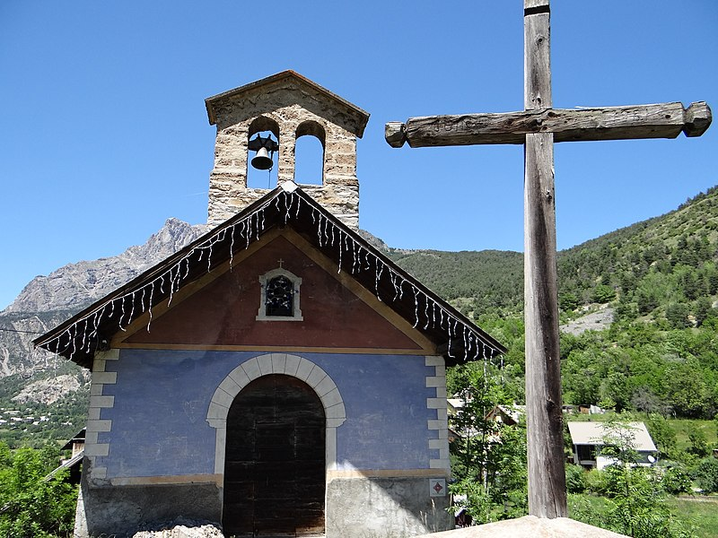 Photo du Monument Historique Chapelle Saint-Claude situé à Les Vigneaux