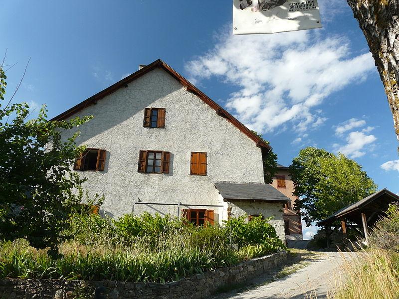 Photo du Monument Historique Ensemble domanial dit Château Saint-Jean situé à Argentière-la-Bessée (L')