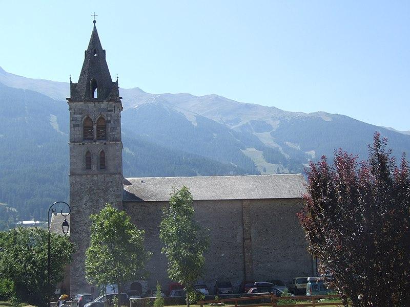 Photo du Monument Historique Eglise Sainte-Marie-Madeleine situé à Les Orres