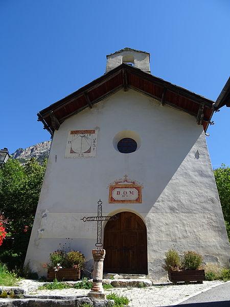 Photo du Monument Historique Chapelle Saint-André et Sainte-Lucie au Grand Parcher situé à Vallouise