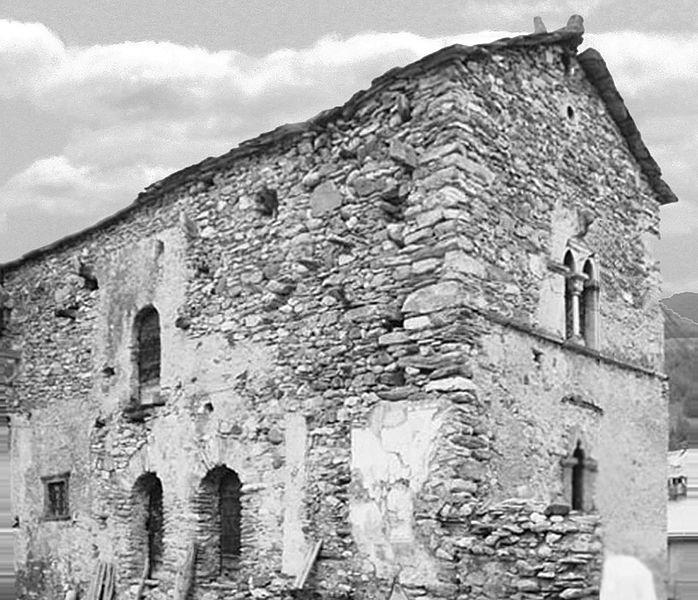 Photo du Monument Historique Maison, au hameau de la Rua situé à Molines-en-Queyras