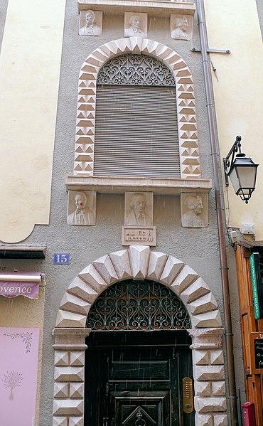 Photo du Monument Historique Maison des Têtes situé à Briançon