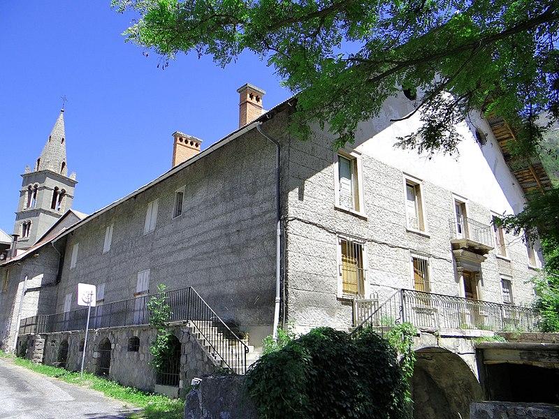 Photo du Monument Historique Ancien cellier dit de la maison Planche situé à Argentière-la-Bessée (L')