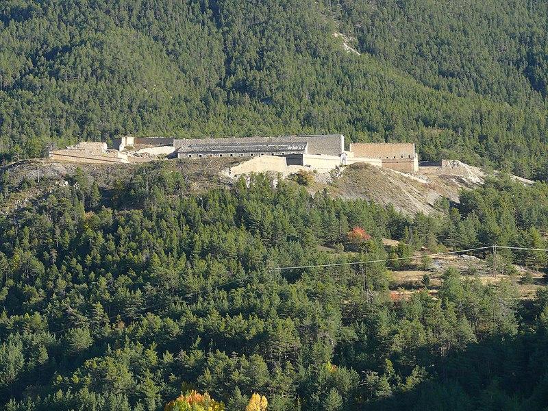Photo du Monument Historique Fort Dauphin situé à Briançon