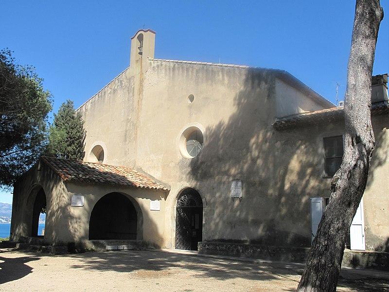 Photo du Monument Historique Eglise Notre-Dame de la Garoupe situé à Antibes