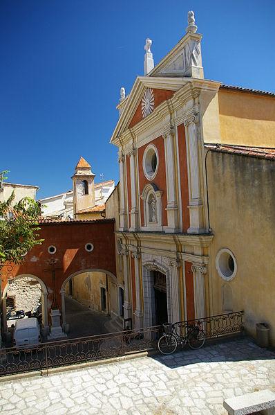 Photo du Monument Historique Eglise paroissiale, chapelle Saint-Esprit et tour Grimaldi situé à Antibes