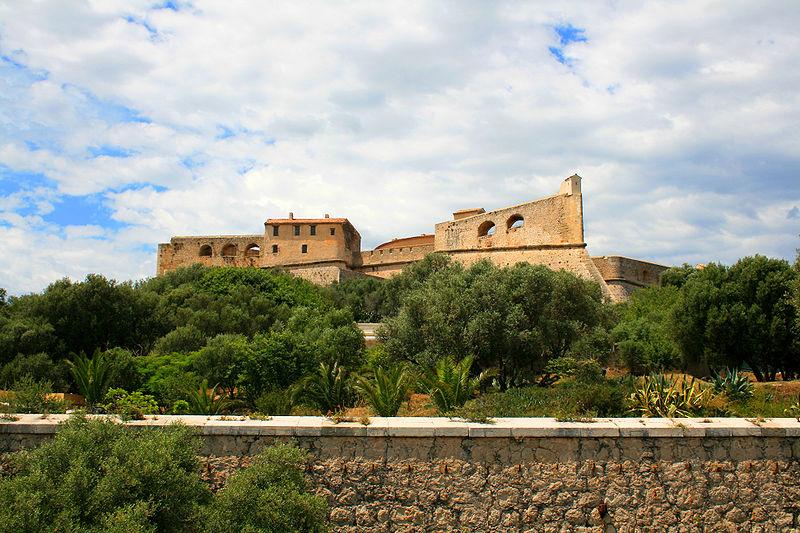 Photo du Monument Historique Fort-Carré situé à Antibes