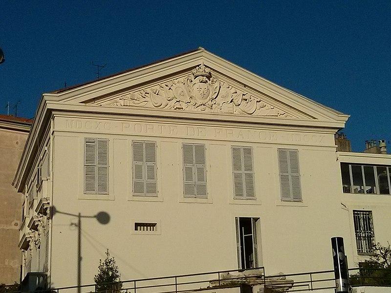Photo du Monument Historique Immeuble dit Porte de France situé à Antibes