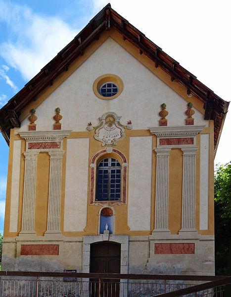 Photo du Monument Historique Chapelle des Pénitents Blancs situé à Beuil