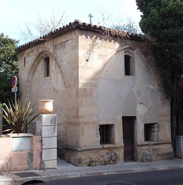 Photo du Monument Historique Chapelle Saint-Roch situé à Biot